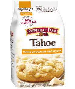 Pepperidge Farm Tahoe Crispy White Chocolate Macadamia Cookies, 7.2 oz. Bag