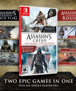 Assassin's Creed: The Rebel Collection, Ubisoft, Nintendo Switch, 887256097677
