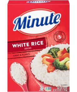 Minute White Instant Enriched Long Grain Rice, 42 oz