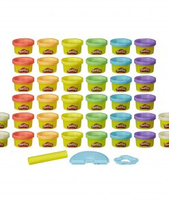 Play-Doh Ultimate Rainbow 40 Pack with Play-Doh Sparkle, 3 Tools, (40 oz)