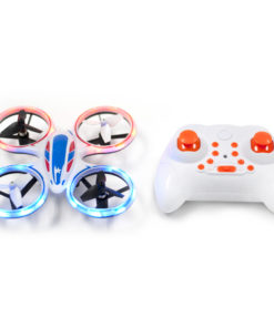 EWONDERWORLD Wonder Chopper Sky Patroller Mini Toy Drone RC Quadcopter with LED Lights, Best Drone for Kids and Beginners, Easy to Fly Drone with 360 Flip
