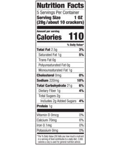 Lance Gluten Free Original Crackers, 5 Oz, 4 Boxes