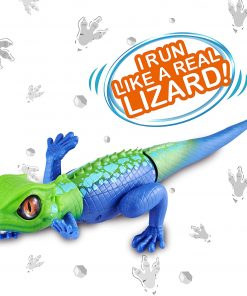 Robo Alive Lurking Lizard Battery-Powered Robotic Toy by ZURU (Coloring May Vary)