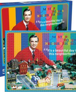 Aquarius Mister Rogers 500 Piece Puzzle