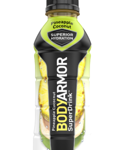 BODYARMOR Sports Drink, Pineapple Coconut, 16 Fl. Oz., 12 count