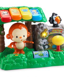 VTech Learn and Dance Interactive Zoo, Fun Teaching Toy for Toddlers