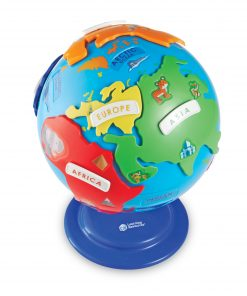 Learning Resources Puzzle Globe, 14 Pieces, Ages 3+