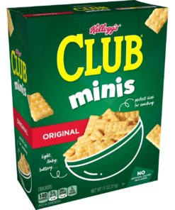 Kellogg's Club Minis Crackers, Original, 11 Oz