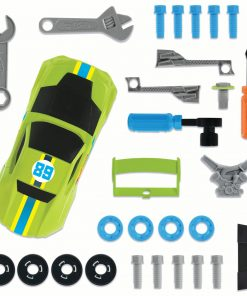 Hot Wheels Ready to Race Car Builder – 29 Pieces