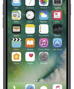 Apple iPhone 7, GSM Unlocked 4G LTE- Black, 32GB (Certified Refurbished)