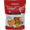 Snack Factory Pretzel Crisps Everything Deli Style Pretzel Crackers, 7.2 oz (Pack of 12)