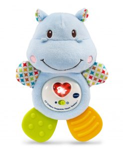 VTech Lil' Critters Huggable Hippo Teether