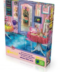 "Jigsaw Puzzle ""My Favourite Cake Shop"" Gold Edition 500 Pieces by Wuundentoy"