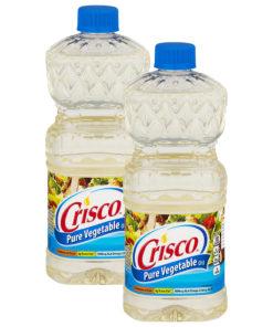 (2 Pack) Crisco Pure Vegetable Oil, 48-Fluid Ounce