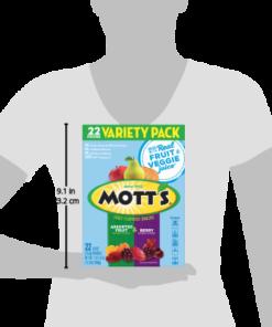 Mott's, Assorted Fruit Snacks, Gluten Free, 17.6 oz