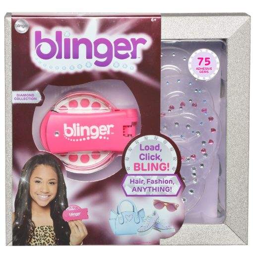 Blinger Diamond Collection Glam Styling Tool – Load, Click, Bling! Hair, Fashion, Anything!
