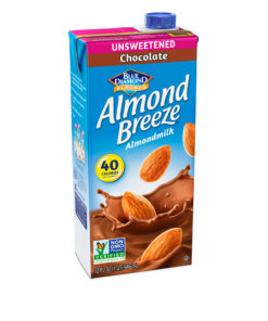 (3 pack) Almond Breeze Almond Milk, Unsweetened Chocolate, 32 fl oz