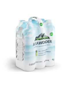 ALKAWONDER Naturally Alkaline Spring Water, 16.9 fl oz, 6ct
