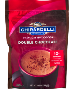 Ghirardelli Double Chocolate Hot Cocoa Pouch, 10.5 oz