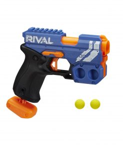 Nerf Rival Knockout XX-100, Round Storage, 90 FPS, 2 Nerf Rounds, Team Blue