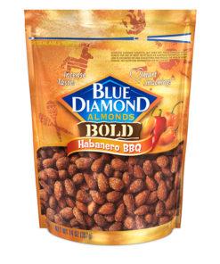 Blue Diamond Almonds, Habanero BBQ 14 oz