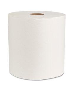 Boardwalk Green Natural White Universal Towels, 800 sheets, 6 ct -BWK17GREEN