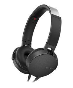 Sony XB550AP EXTRA BASS Headphones (Black)