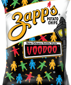 Zapp's New Orleans Kettle Style Potato Chips, Voodoo, 9 oz