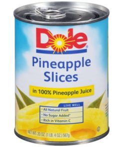 Pineapple Slices In 100% Pineapple Juice