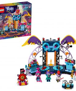 LEGO Trolls World Tour Volcano Rock City Concert 41254 Toy Building Kit for Kids (387 Pieces)
