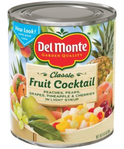 Del Monte Fruit Cocktail in Light Syrup (105 Ounce can)