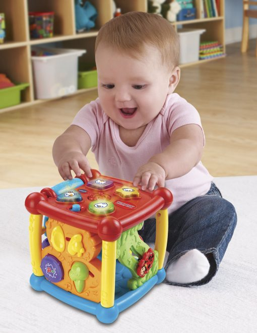 VTech Busy Learners Activity Cube, Learning Toy for Infant Toddlers