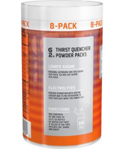 (16 Packets) G2 Lower Sugar Gatorade Glacier Freeze Powder Packets, 0.52 Oz