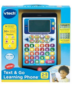 VTech Text and Go Learning Phone, Great Teaching Toy for Toddlers