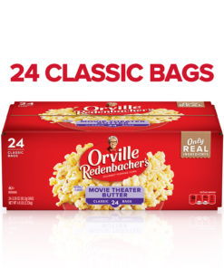 Orville Redenbacher's Movie Theater Butter Microwave Popcorn, 24 Ct (3.29 Oz. Bags)