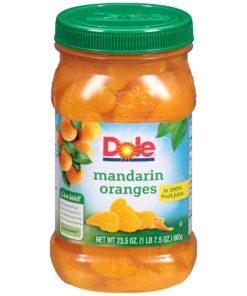(3 Pack) Dole Mandarin Oranges in 100% Fruit Juice, 23.5 oz