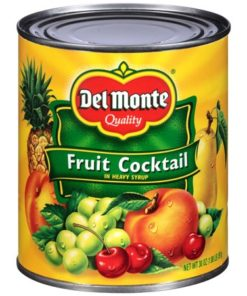 (3 Pack) Del Monte Fruit Cocktail in Heavy Syrup, 30 oz