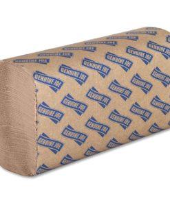 Genuine Joe Multi-Fold Natural Paper Towels, 250 count, (Pack of 16)