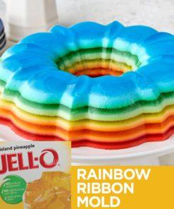 (3 Pack) Jell-O Island Pineapple Gelatin Mix, 3 oz Box
