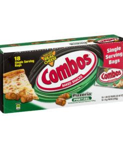 COMBOS Pizzeria Pretzel Baked Snacks, 18 Ct (1.8 Oz. Bags)