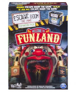 Spin Master Games – Escape Room Expansion Pack – Welcome to Funland