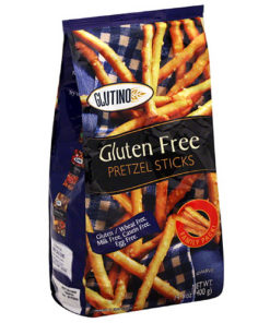 Glutino Gluten Free Pretzel Sticks, 14.1 oz, (Pack of 12)