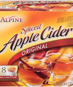 Alpine® Original Spiced Apple Cider Instant Drink Mix 18-0.81 oz. Cups
