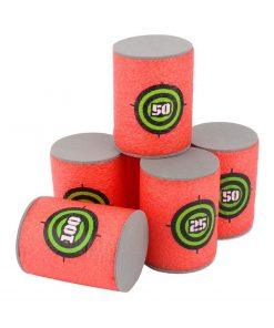 12pcs Soft Foam Target Cans for Guns Games