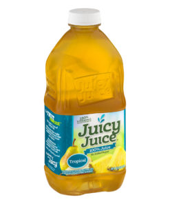 (2 Pack) Juicy Juice 100% Juice, Tropical, 64 Fl Oz, 1 Count
