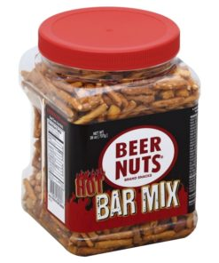 BEER NUTS Hot Bar Mix – Party Size Jar