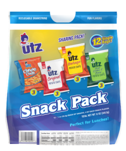 Utz Variety Snack Pack, 1 oz, 12 Count