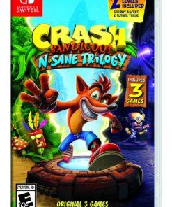 Crash N. Sane Trilogy, Activision, Nintendo Switch, 047875881990