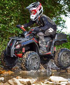 Huffy Torex ATV Kids' 24V 4-Wheeler Electric Ride-On Quad