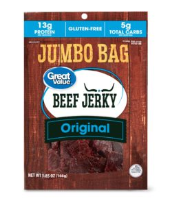 Great Value Original Beef Jerky Jumbo, 5.85 Oz.